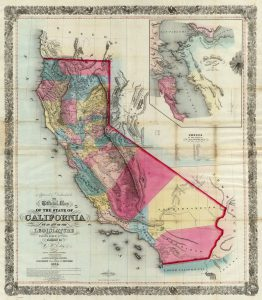 Eddy Map of the State of CA