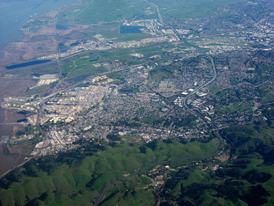 Aerial photo of Martinez, CA By Dcoetzee (Own work) [Public domain], via Wikimedia Commons