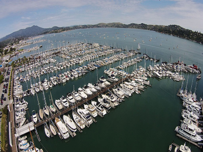 Aerial view of Sausalito Yacht Harbor By Kyle Hawton (Own work) [CC BY-SA 3.0 (http://creativecommons.org/licenses/by-sa/3.0)], via Wikimedia Commons